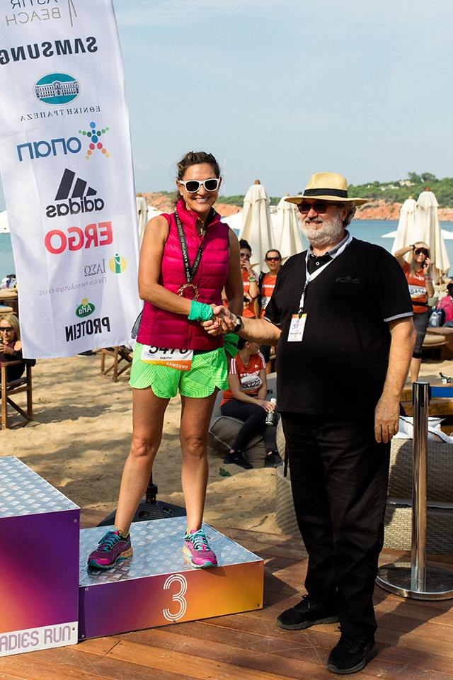 ladies run 2018 medals by Valaes